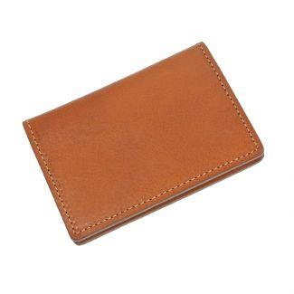Italian Leather Card Holder (Tan)