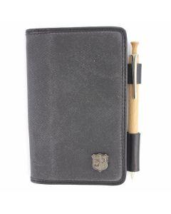 Langdale Notebook Cover (Dark Carbon)