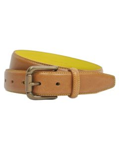 Kingston Saddle Tan/Yellow