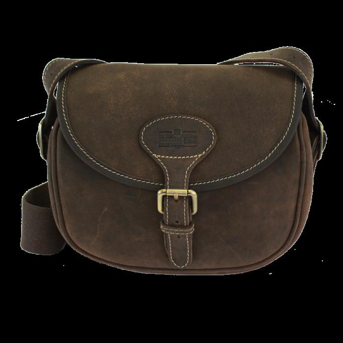 Berkeley Cartridge Bag - Leather Shooting Bag Mens Belts
