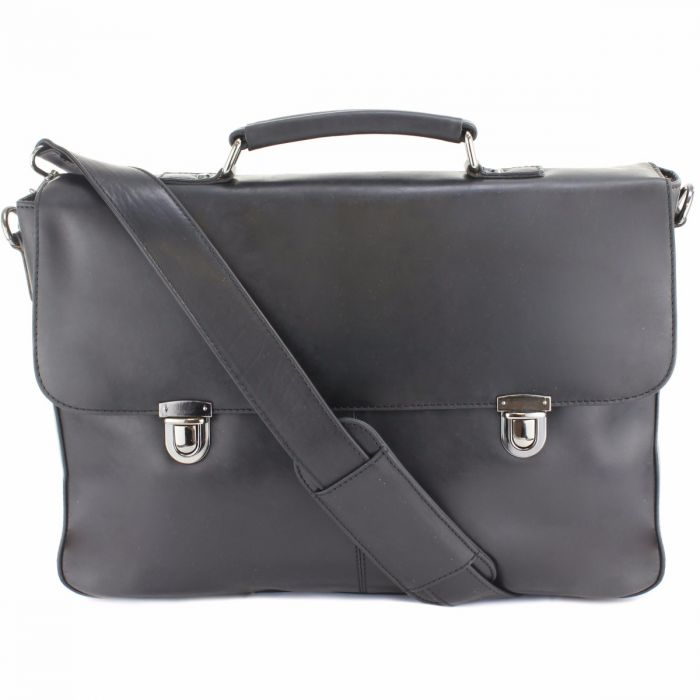 9ee335c074 Men s Black Leather Satchel