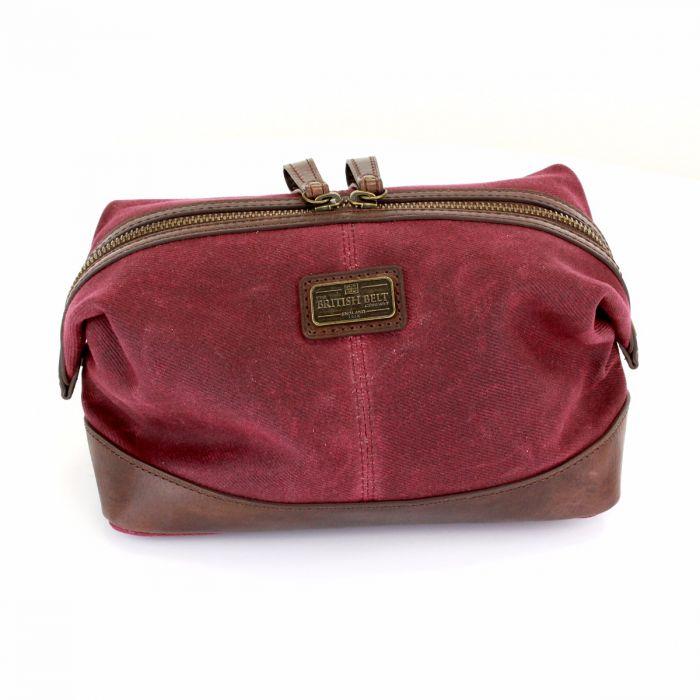 Men s Brown Leather Wash Bag  1134dedad940f