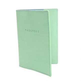 Italian Leather Passport Cover